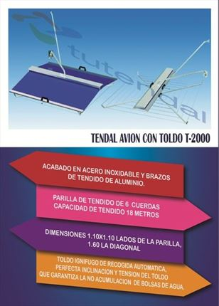 CUERDAS DE TENDAL 93 DE 2M